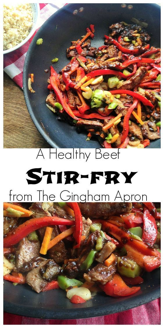 No sugar and no hidden carbs! This stir-fry is healthy and super delicious. (A Trim Healthy Mama S recipe)