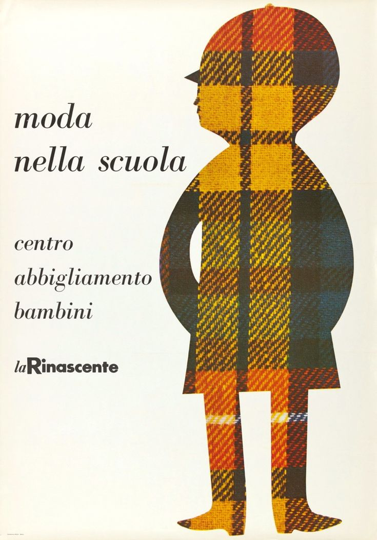Lora Lamm, Swiss-born graphic designer who worked in Milan during the 50s and early 60s.