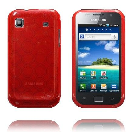Amazona (Punainen) Samsung i9003 Galaxy SL Silikonisuojus