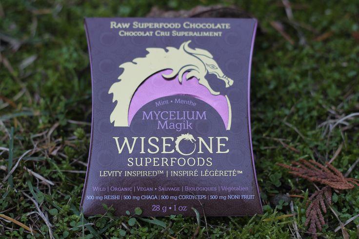 Our Mycelium Magik Chocolate Bar with Chaga, Reishi, Cordyceps, and Noni Fruit.   Raw Superfood Chocolate Designed to Fuel the Celebration!   Benefits of our Mycelium Magik bar:  - Optimal immune system support and modulation - Cognitive Support - Endocrine system modulation  http://www.wiseonesuperfoods.com/product/mycelium-magik-2/