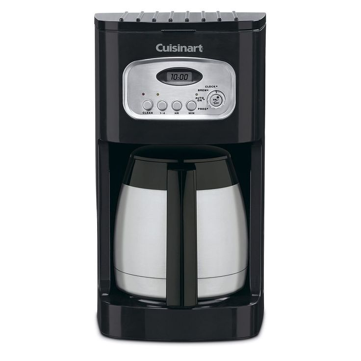 Cuisinart Programmable 10-Cup Thermal Coffee Maker, Black