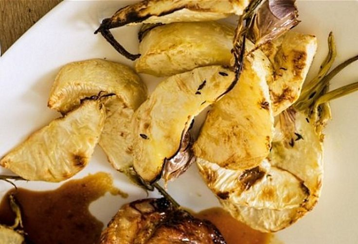 Celeriac chips - absolutely delicious!