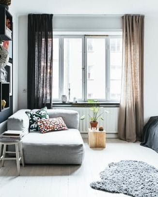 How to Lay Out a Tiny, 330-Square Foot Studio Apartment | Apartment Therapy