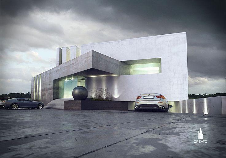 #AMAZING #FACADE #ARCHITECTURE #MODERN #CREATO #CONCRETE #PROJECT