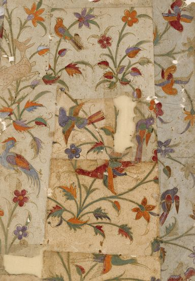 Wall Hangings of Birds and Flowers by Ashmolean Museum (1000mm x 1250mm) | Shop | Surface View
