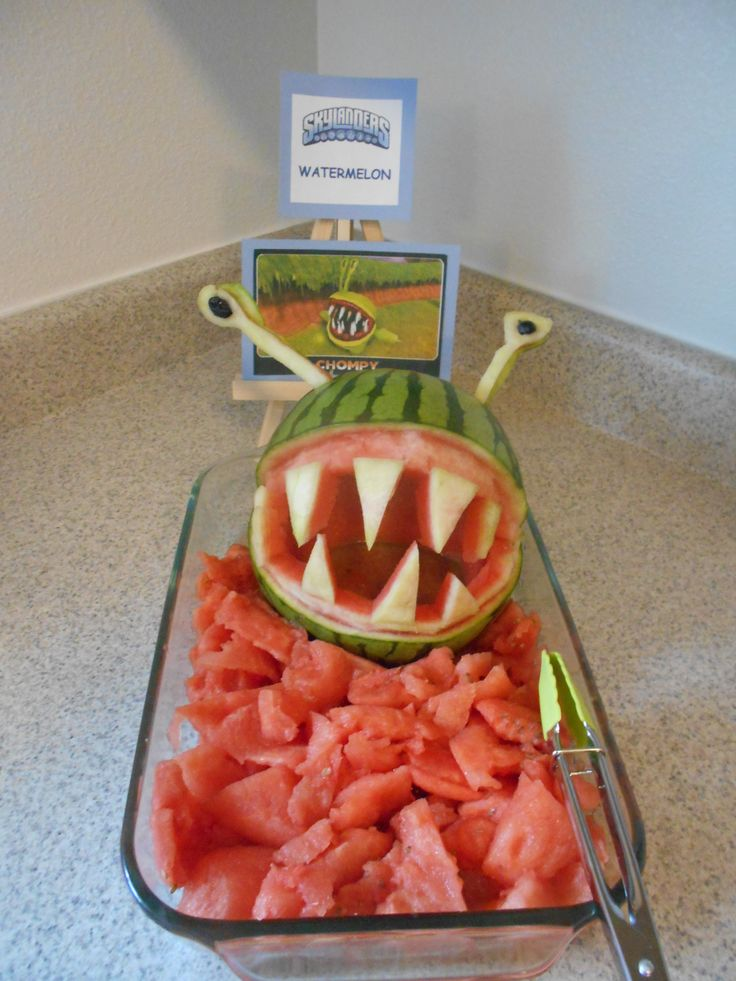 Skylanders Birthday Party!! (CHOMPY Watermelon)