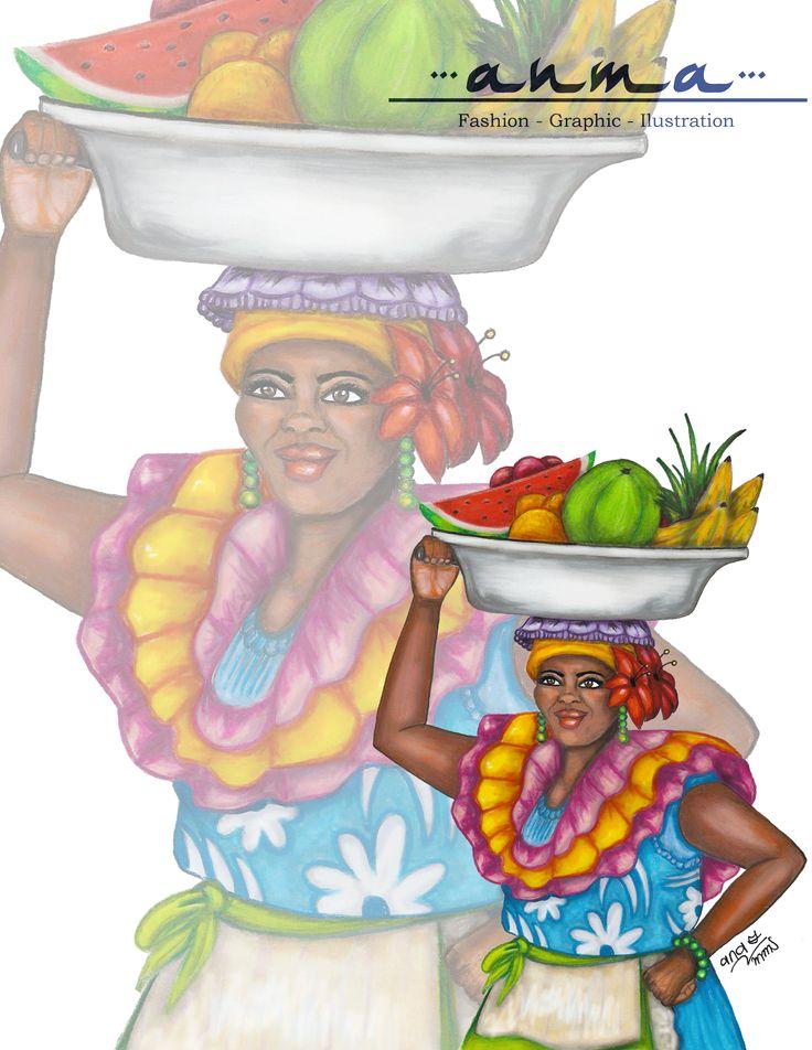 Palenquera de Cartagena