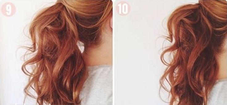 awesome 50 Идей, как сделать красивый хвост на длинные волосы — Новые идеи привычной прически (фото) Читай больше http://avrorra.com/kak-sdelat-krasivyj-xvost-na-dlinnye-volosy-foto/