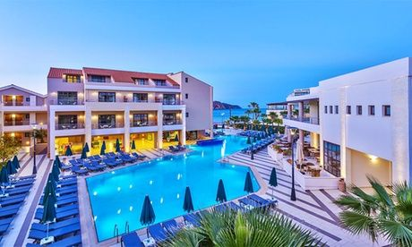 Get UK Deal: ✈ Crete: Up to 7-Night 5* All-Inclusive Break with Flights for just: £199.00 ✈ Crete: Up to 7-Night All-Inclusive Stay at 5* Porto Platanias Beach Resort & Spa with Return Flights*  >> BUY & SAVE Now!