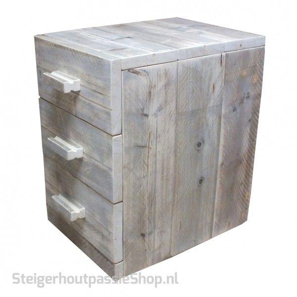 steigerhouten Ladenblok Lotte