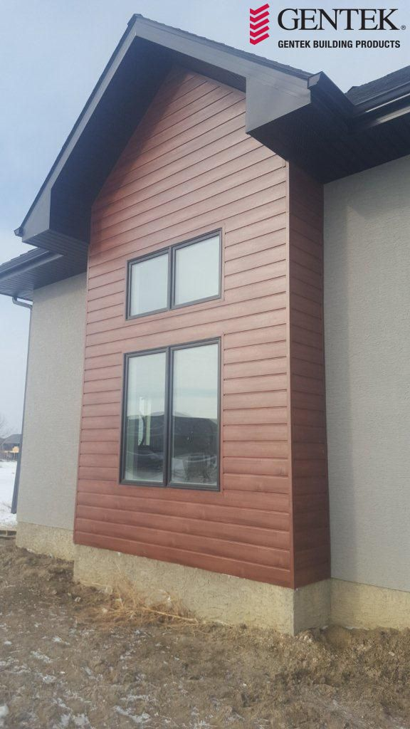 Sagiper Product In The Mocha Redwood Colour Installed With