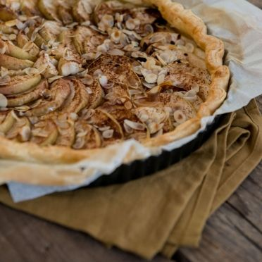 Snelle appeltaart met speculaaskruiden - Dille & Kamille | Herfst op tafel!