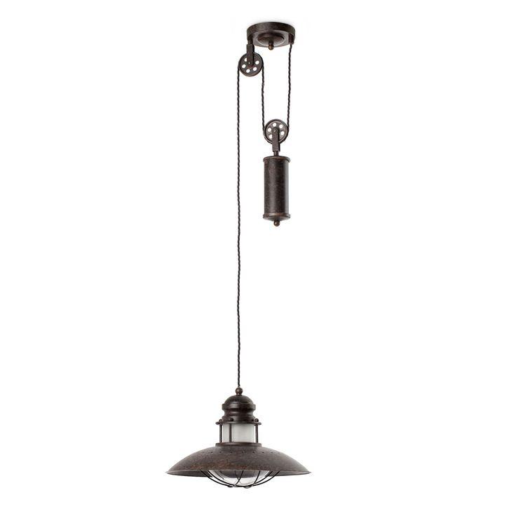 1000 id es propos de lumi re de poulie sur pinterest clairage industriel. Black Bedroom Furniture Sets. Home Design Ideas