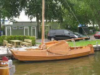 Dutch Scow Sloop from Chapelle's Boatbuilding   The ...