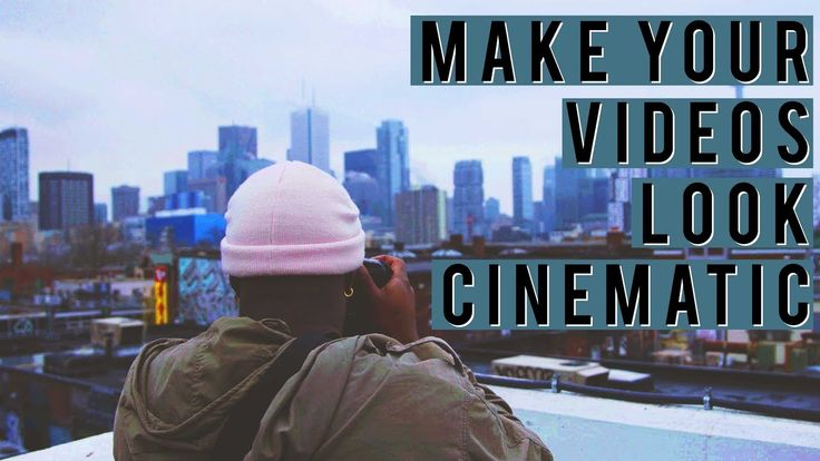 TOP 5 Tips To Make your VIDEOS look CINEMATIC