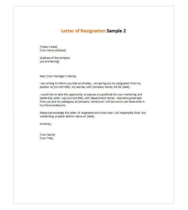 about resignation letter on pinterest job resignation letter letter