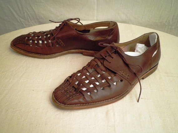 1980s Vintage Mens Summer Shoes Kenneth Cole Size by rue23vintage, $30.00