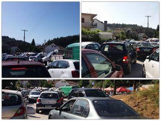 Γιάννενα: Χωρίς υποδομή πάρκινγκ η λαϊκή αγορά στη Δροσιά
