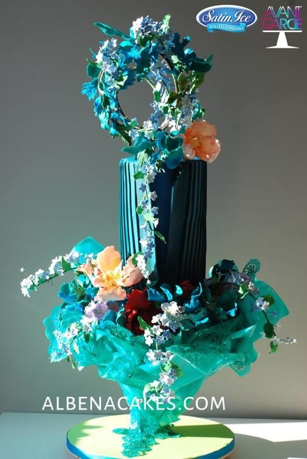 Blue Fantasy - Avant-Garde Cake - Cake by Albena