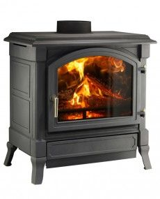 Nestor Martin H Series Harmony 43 H43 - Woodburning Stove - Wood Burning Stove - Freestanding Stove - Multifuel Stove - Cast Iron Stove - Traditional Stove