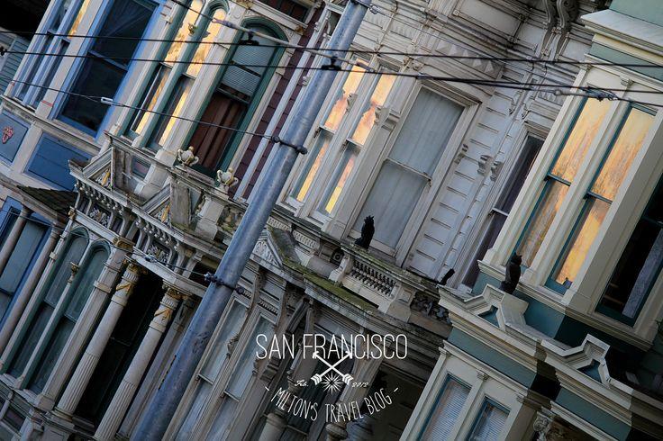 Haight Ashbury, San Francisco, California, USA. February 2012   https://www.instagram.com/miltonstravelblog/