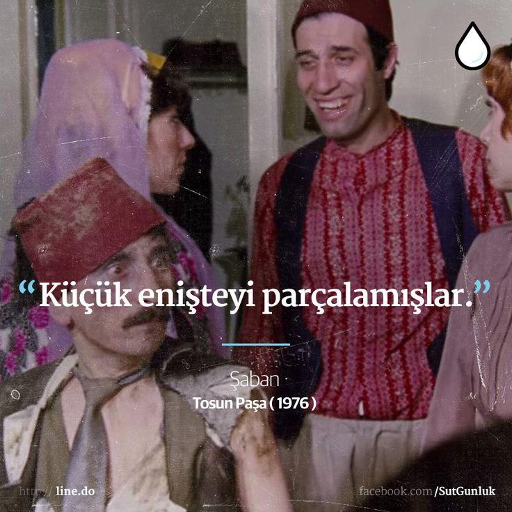 Küçük enişteyi parçalamışlar. -Şaban / Sahte Tosun Paşa (Kemal Sunal, Tosun Paşa, 1976) #sözler #anlamlısözler #güzelsözler #manalısözler #özlüsözler #alıntı #alıntılar #alıntıdır #alıntısözler #şiir #edebiyat #filmreplikleri #filmsözleri #film #kemalsunal