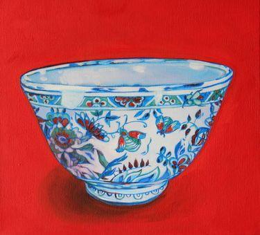 "Saatchi Art Artist Shauna Southam; Painting, ""Chinese bowl"" #art"