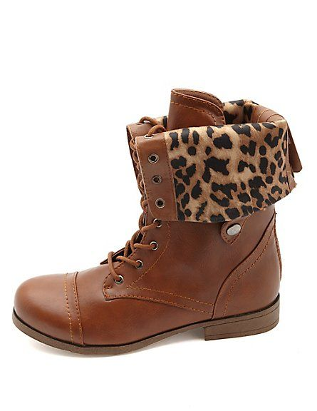 Combat Boots Fashion Winter