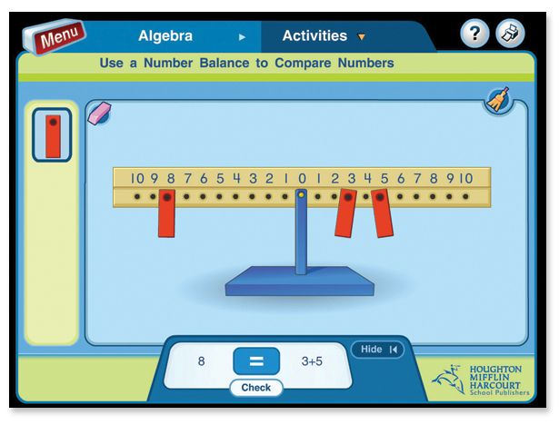 Students can interact with the Math in Focus manipulatives online, at school, and at home. Includes Singapore math place value, number bonds...