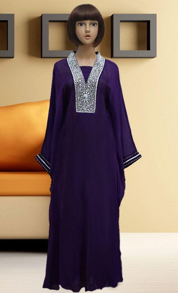Dubai very fancy kaftans / abaya jalabiya Ladies Maxi Dress Wedding gown earings:dubai abaya on sale $145.00