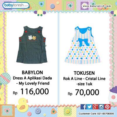 Dapatkan berbagai kebutuhan bayi Anda hanya di Babylonish.  Seluruh pakaian bayi bersertifikat SNI. Gratis ongkir seluruh Indonesia. #ido #costly #tatami #tokusen #babylon #fully #mommy #baby #kids #picoftheday
