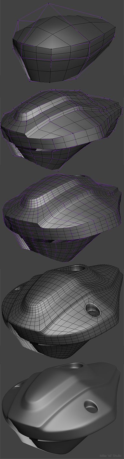 FAQ: How u model dem shapes? Hands-on mini-tuts for mechanical sub-d AKA ADD MORE GEO - Page 175 - Polycount Forum