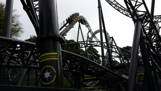 The Smiler at Alton Towers...  loved it!