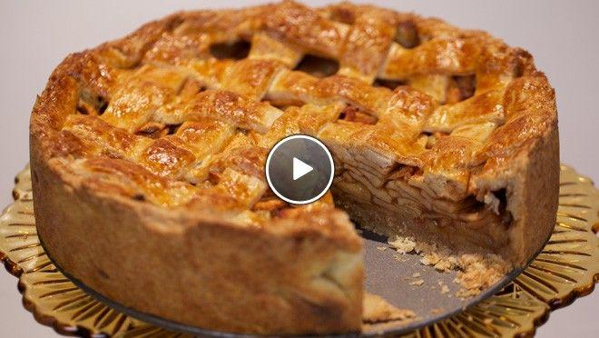 Klassieke appeltaart - recept | 24Kitchen