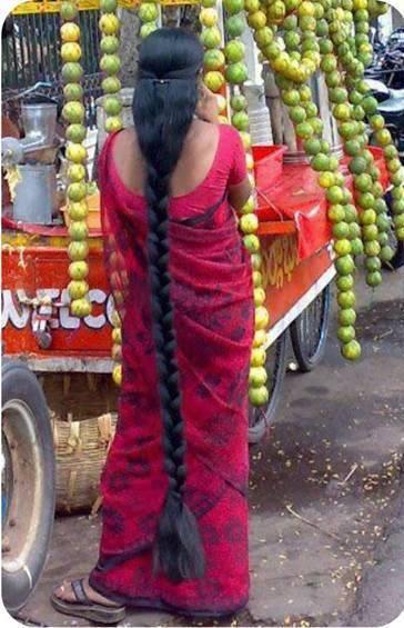 Cabellera de la India.