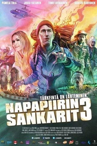 Napapiirin sankarit -elokuvasarjan kolmannessa osassa Janne (Jussi  Vatanen) on eksynyt elämän keskipäivän pimeään metsään ja lähtee  etsimä...