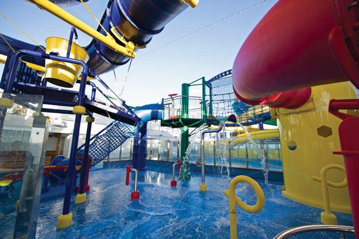 Norwegian Cruise Line Aqua Park