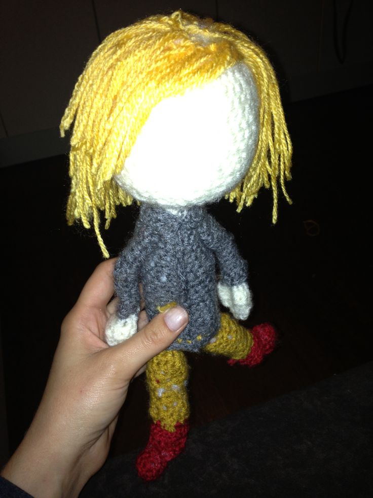 First amigurumi doll - crochet