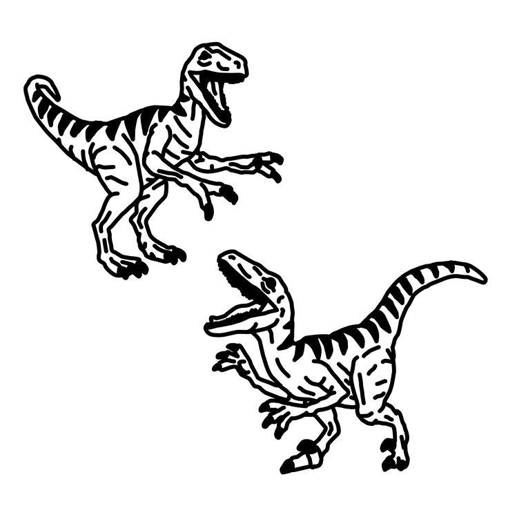 Velociraptor. Tattoo Flash by Ego Sum Lux Mundi. More info: https://www.instagram.com/egosumluxmundi/ https://egosumluxmundi.hotglue.me/