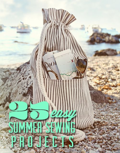 Sew...sew...sew!!! :): All Beaches, Sewing Projects, Bags Tutorials, Summer Beach, Totes Bags, Summer Bags, Beaches Bags, Drawstring Bags, Sewing Tutorials
