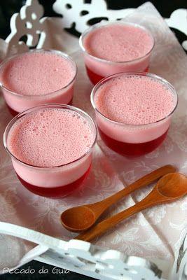 Gelatina com mousse deliciosa! *-* Testada e aprovada!
