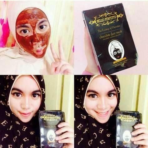 Jual Bello Perfecto ~ Belo ~ Masker muka ~ masker Coklat ~, Harga Terbaik Hanya di Cakning Store.