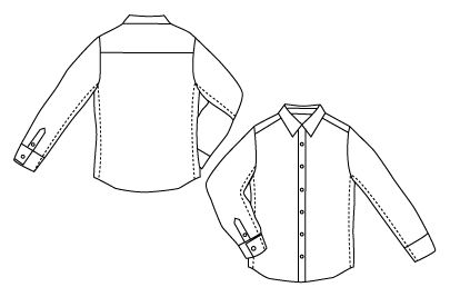 How To: Tailor a Button-Down Shirt for a Perfect Fit | Man Made DIY | Crafts for Men | Keywords: hack, fabric, fashion, sewing