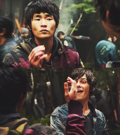christopher larkin  ~ the 100