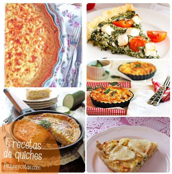 5 recetas de quiches, una cena rápida perfecta
