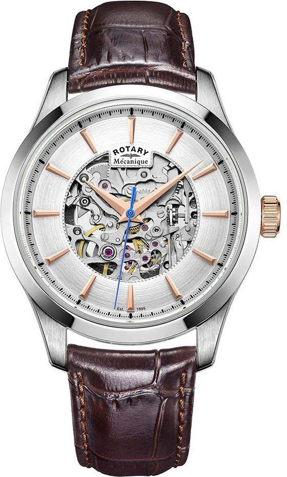 Rotary Watch Skeleton Automatic #add-content #bezel-fixed #bracelet-strap-leather #brand-rotary #case-depth-12-1mm #case-material-steel #case-width-40mm #classic #delivery-timescale-1-2-weeks #dial-colour-silver #gender-mens #movement-automatic #new-product-yes #official-stockist-for-rotary-watches #packaging-rotary-watch-packaging #style-dress #subcat-rotary-core-ladies #supplier-model-no-gs05032-06 #warranty-rotary-official-lifetime-guarantee #water-resistant-waterproof