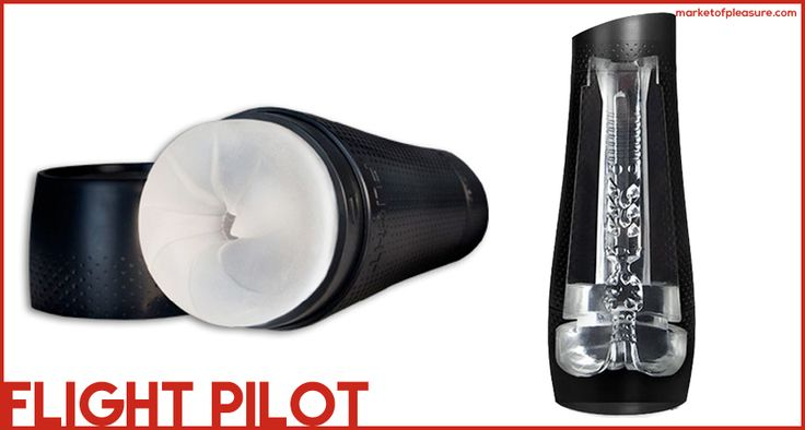 FLESHLIGHT FLIGHT PILOT    The Fleshlight Flight Pilot is a smaller, lighter and discreet male masturbator. The insert is less obtrusive and the fight comes in two different internal textures