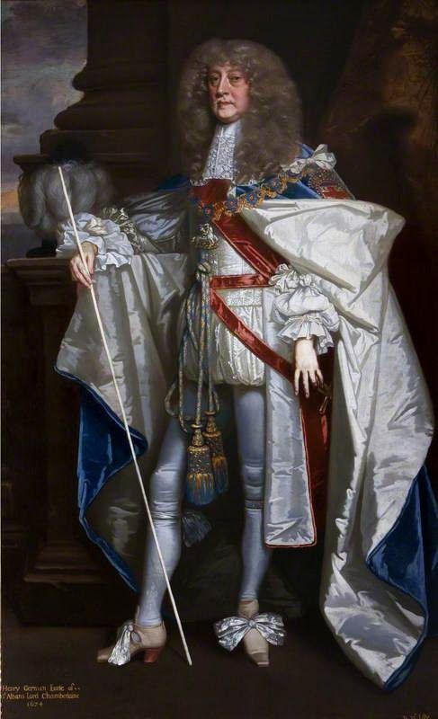 """Sir Peter LELY, """"Retrato de Henry Jermyn, primer conde de Saint-Albans y Par de Ing …   – The story told us by the painter"""