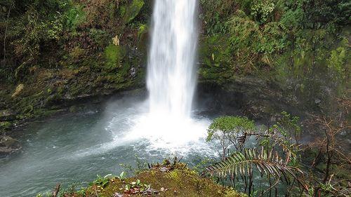 Salto Río Blanco, Reserva Nacional Llanquihue