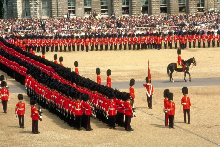 London's iconic Horse Guards Parade, home to the annual 'Trooping the Colour' celebration , #England